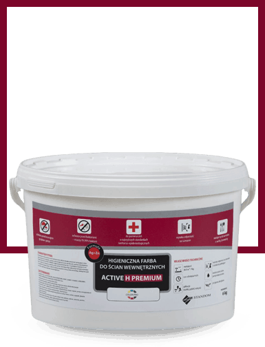 ACTIVE H PREMIUM specjalistyczna farba antygrzybiczna i biobójcza
