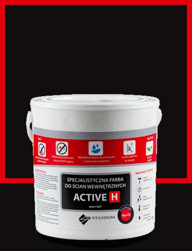 Higieniczna farba antygrzybiczna ACTIVE H