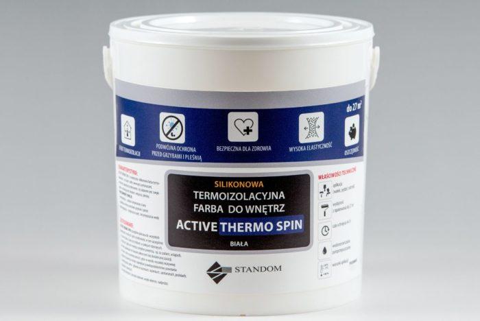 Termoizolacyjna farba antygrzybiczna ACTIVE THERMO SPIN - 2,5kg